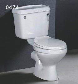 Closed Coupled Toilet