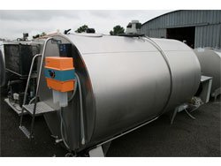 Milk Cooling Tank - 3500 Ltr