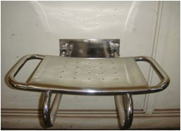 S/S SHOWER SEAT