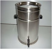 STAINLESS STEEL EDIBLE OIL CONTAINERS - 10 Litres