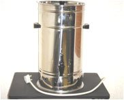 STAINLESS STEEL ELECTRIC TEA URNS - 10 Litres